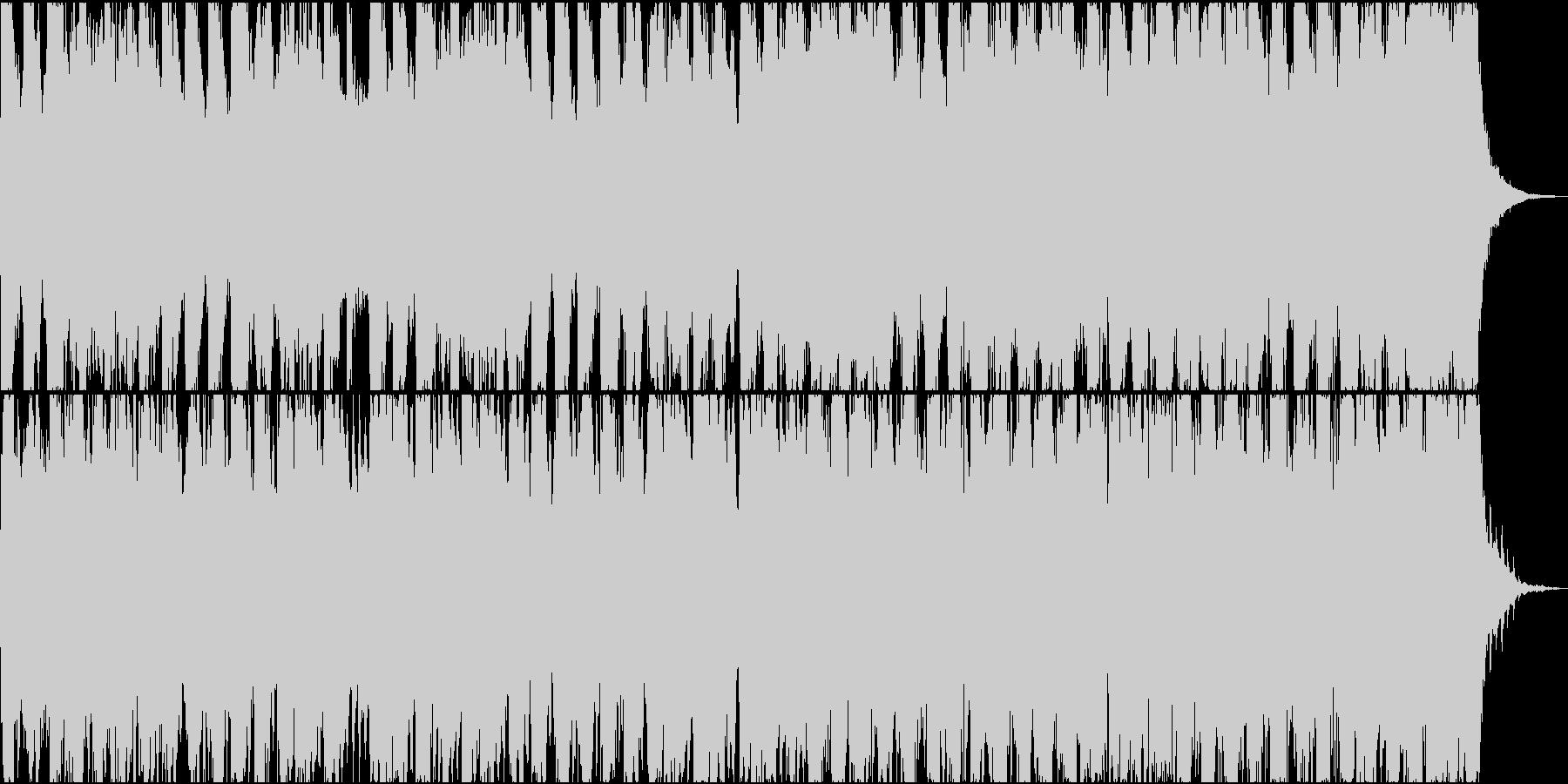 元気の良いエレクトロの未再生の波形