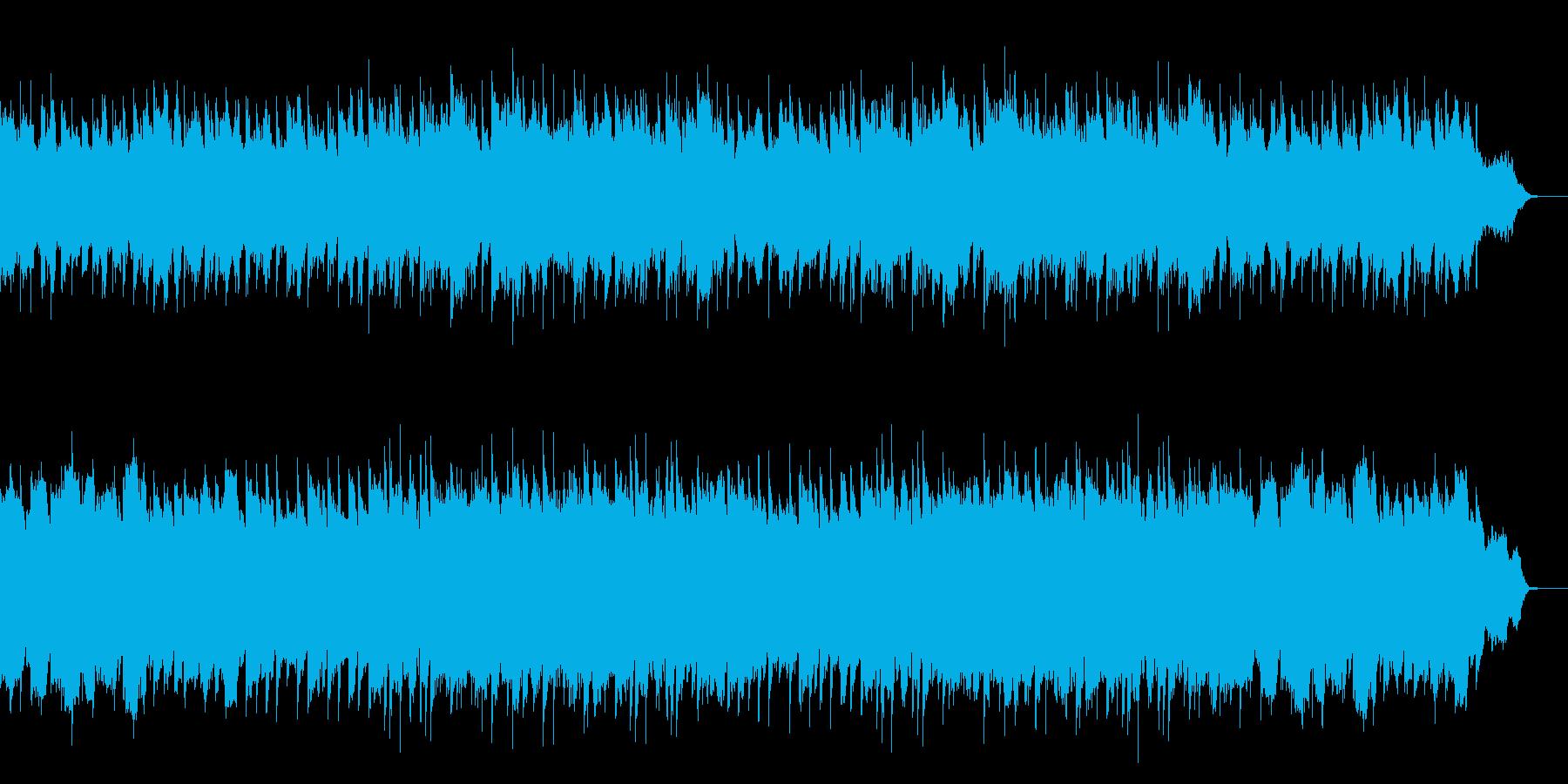懐かしくてホッとするピアノ中心のワルツの再生済みの波形