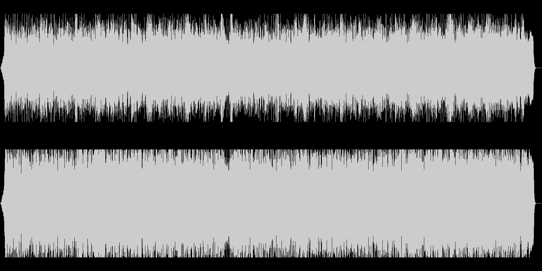 メタル系アップテンポBGMの未再生の波形
