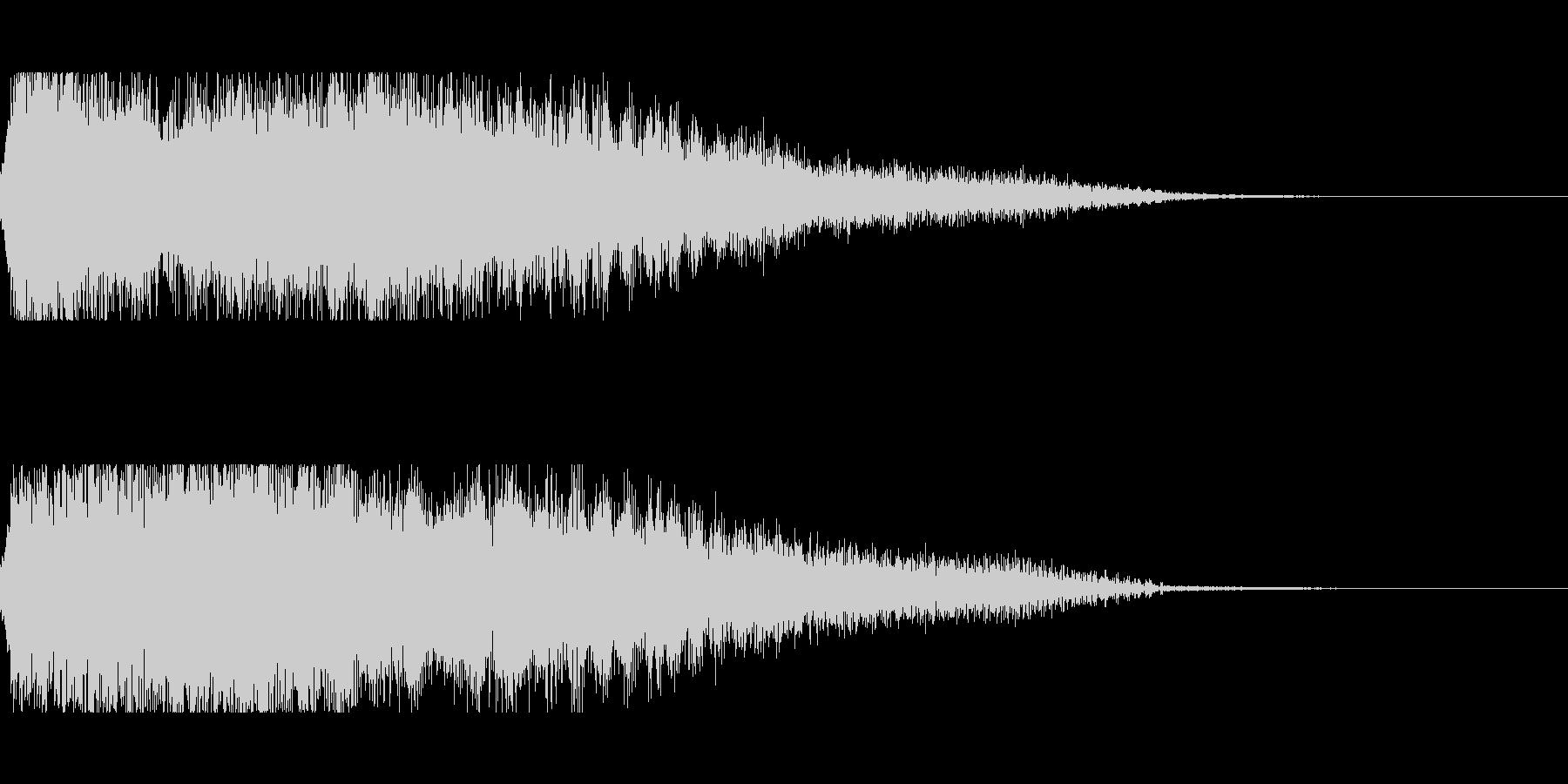 [キュピーン]パラメータUP(豪華)の未再生の波形