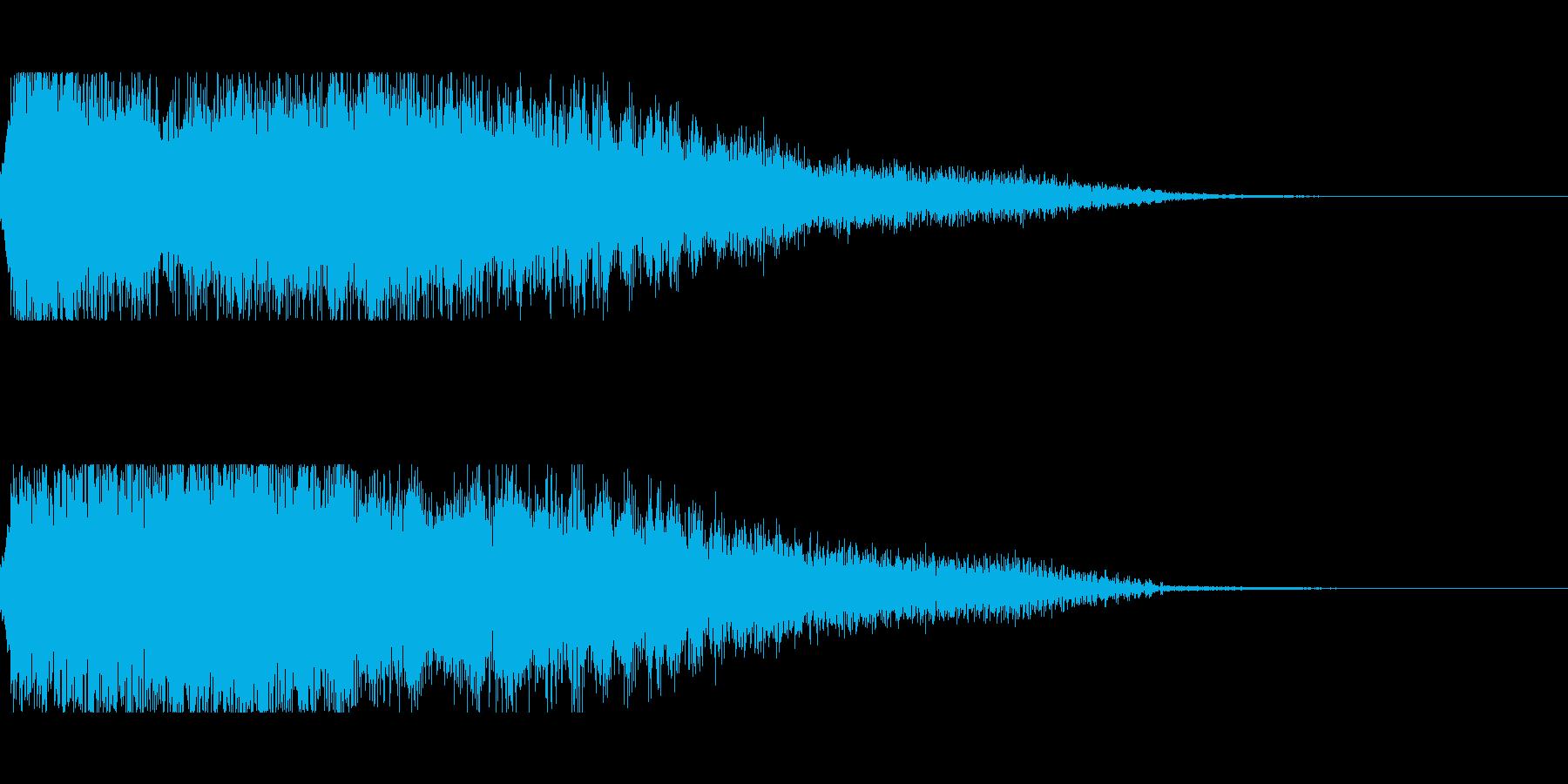 [キュピーン]パラメータUP(豪華)の再生済みの波形