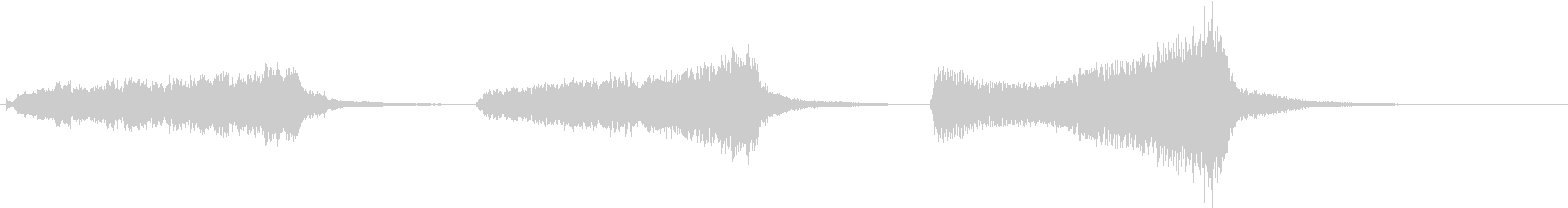 トムとジェリー風なアニメ音楽「驚き」2の未再生の波形