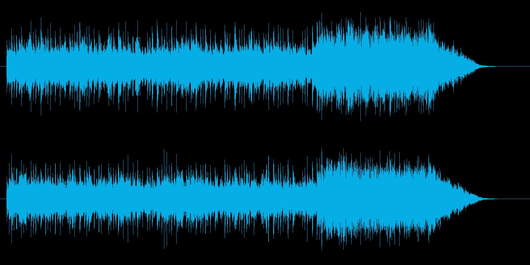 神秘的で優雅なヒーリングジングルの再生済みの波形
