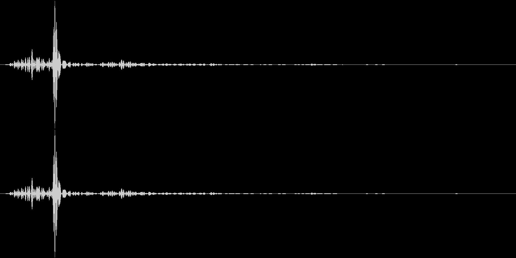 AppTool スマホのフリック音の未再生の波形