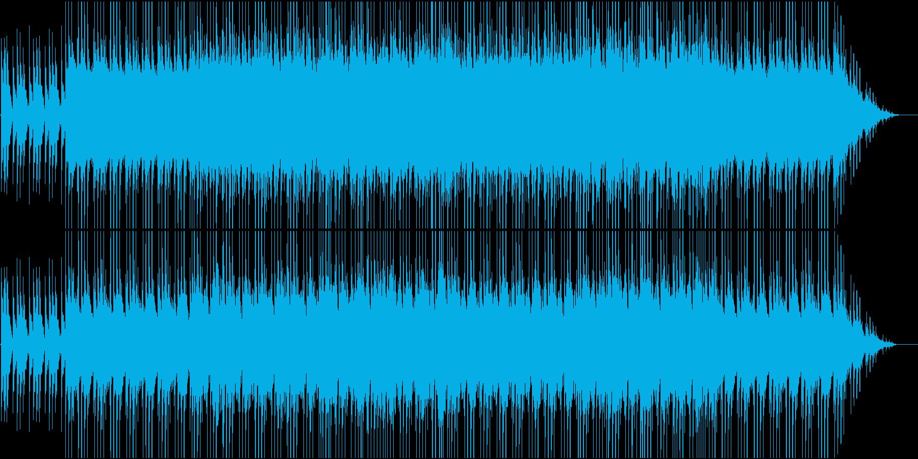 青い世界で深呼吸の再生済みの波形