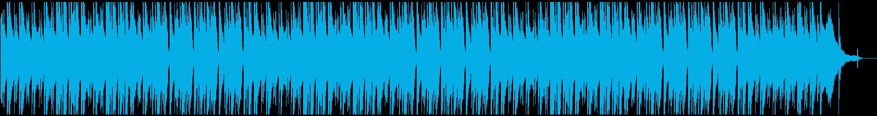 3連系ピアノ曲の再生済みの波形