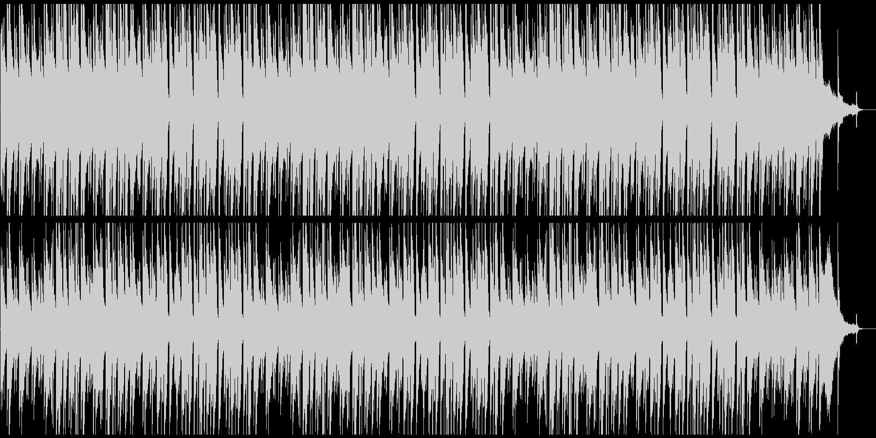 3連系ピアノ曲の未再生の波形
