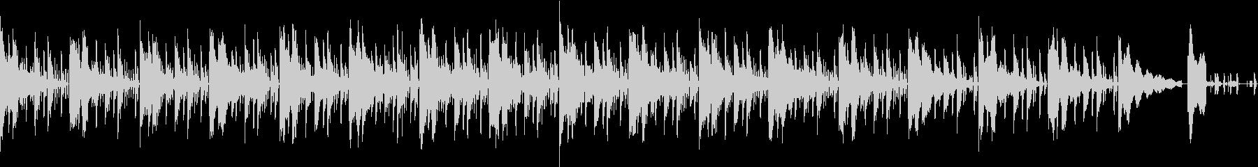 耳に残るエレクトリックサウンドの未再生の波形
