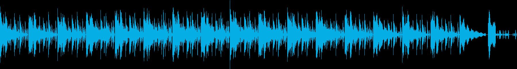 耳に残るエレクトリックサウンドの再生済みの波形