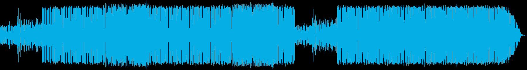 軽快なリズムと綺麗なメロディーのバラードの再生済みの波形