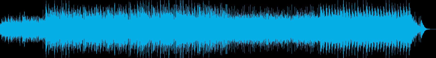 キラキラした雰囲気のエレクトロの再生済みの波形
