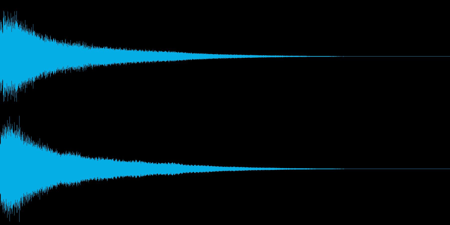 【チャイナシンバル ゴング】中国演出!7の再生済みの波形