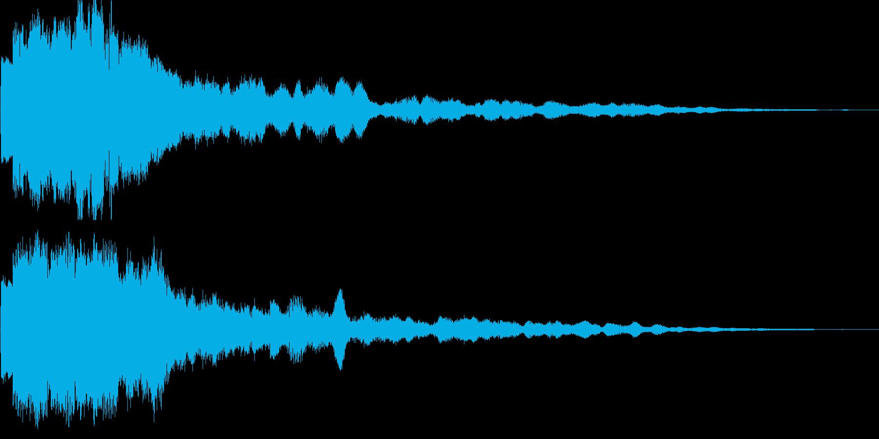 魔法19(回復・光・防御・補助系)の再生済みの波形