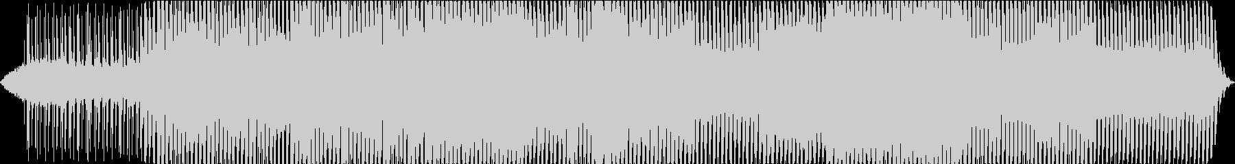 ビートの激しいダンスソングの未再生の波形