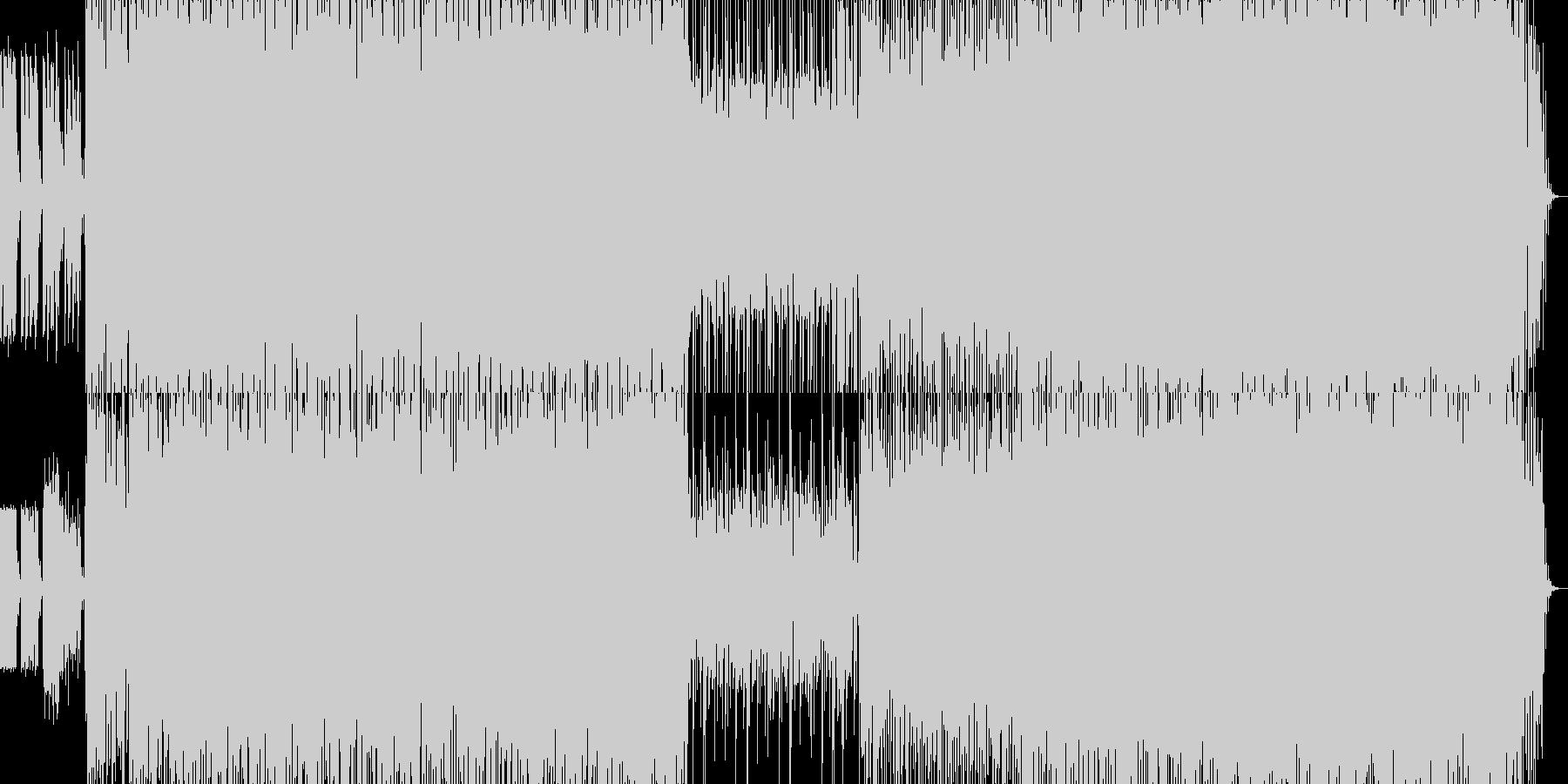 テクノ/未来/サイバー/宇宙の未再生の波形