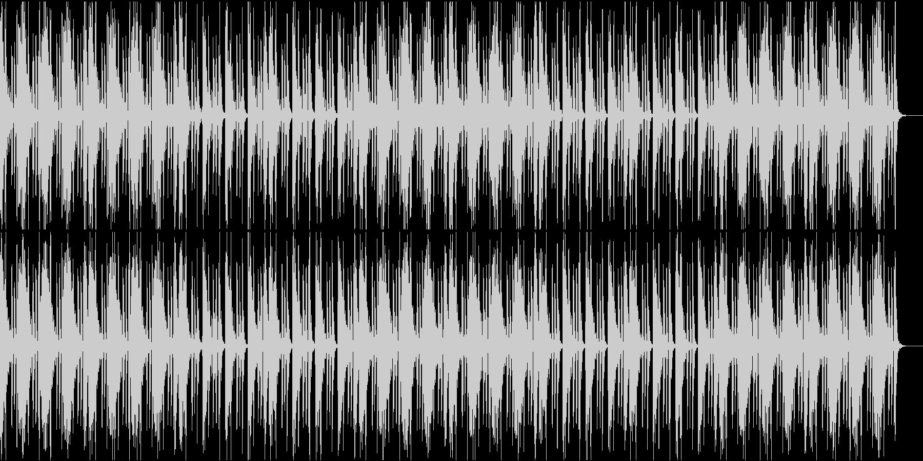冷静な雰囲気なHiphopの未再生の波形