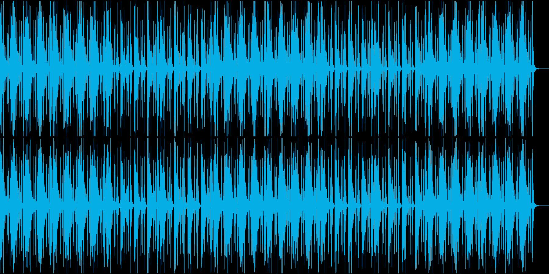 冷静な雰囲気なHiphopの再生済みの波形