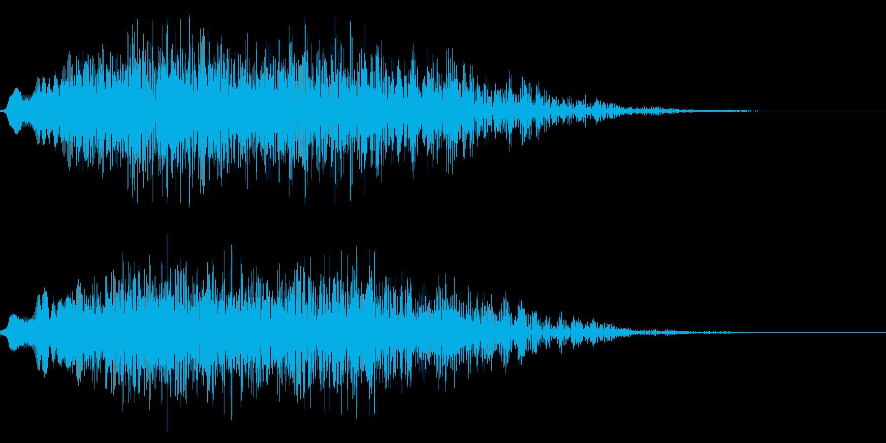 ゴージャスな決定音4の再生済みの波形