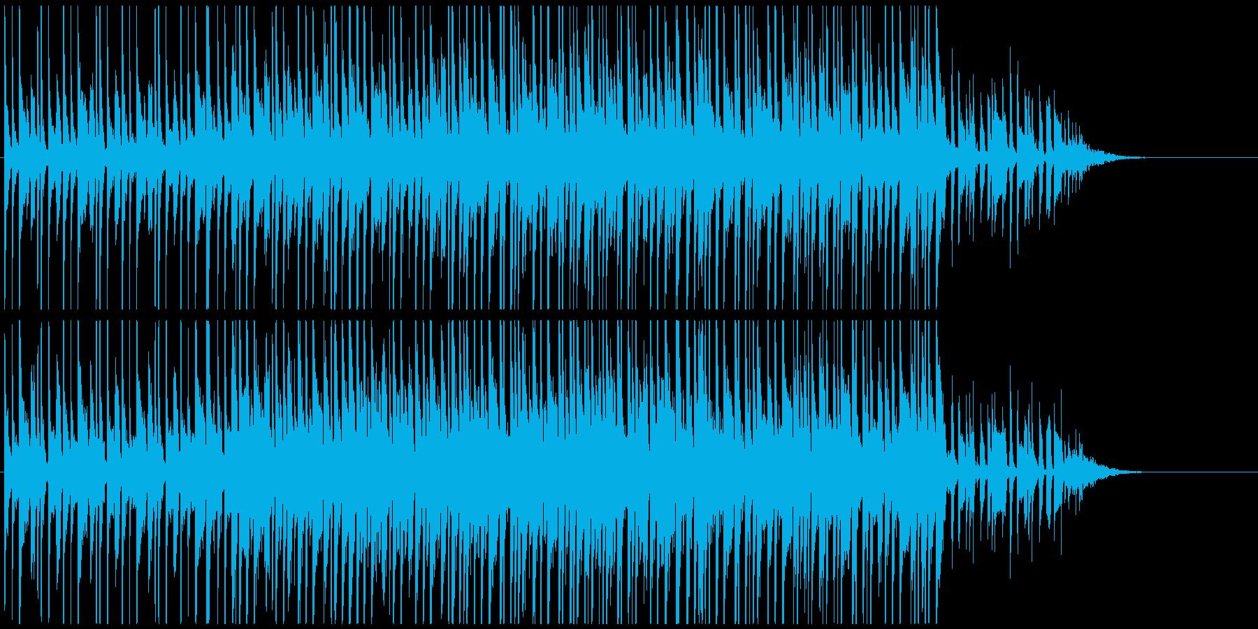 おしゃれジングル ポップジャズで未来的の再生済みの波形