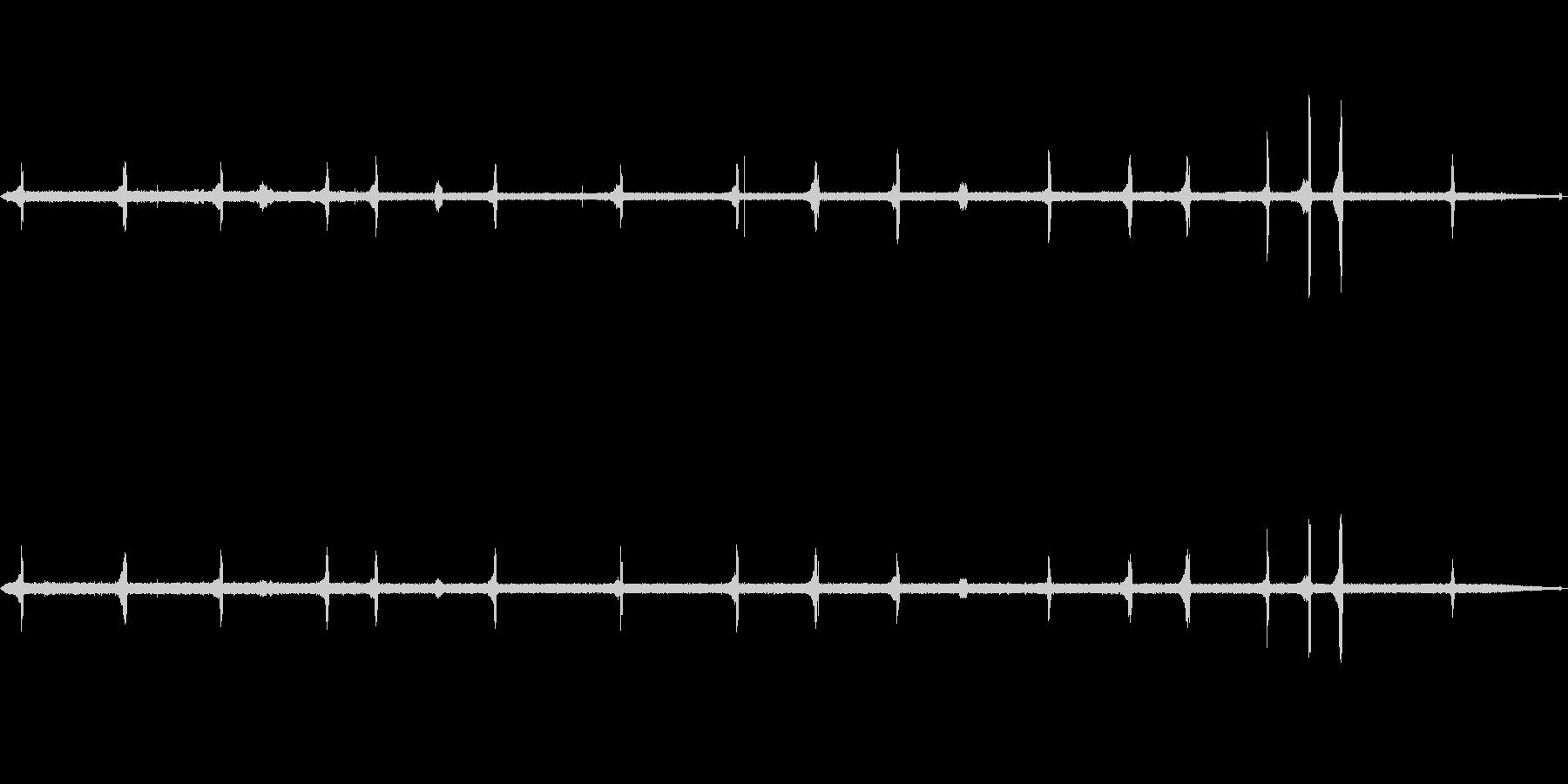 【自然音】ウグイスの鳴き声(開田高原)の未再生の波形