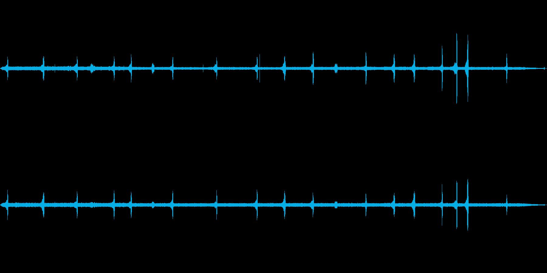 【自然音】ウグイスの鳴き声(開田高原)の再生済みの波形
