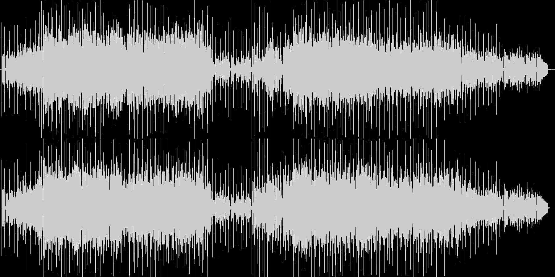 テクノっぽいの未再生の波形