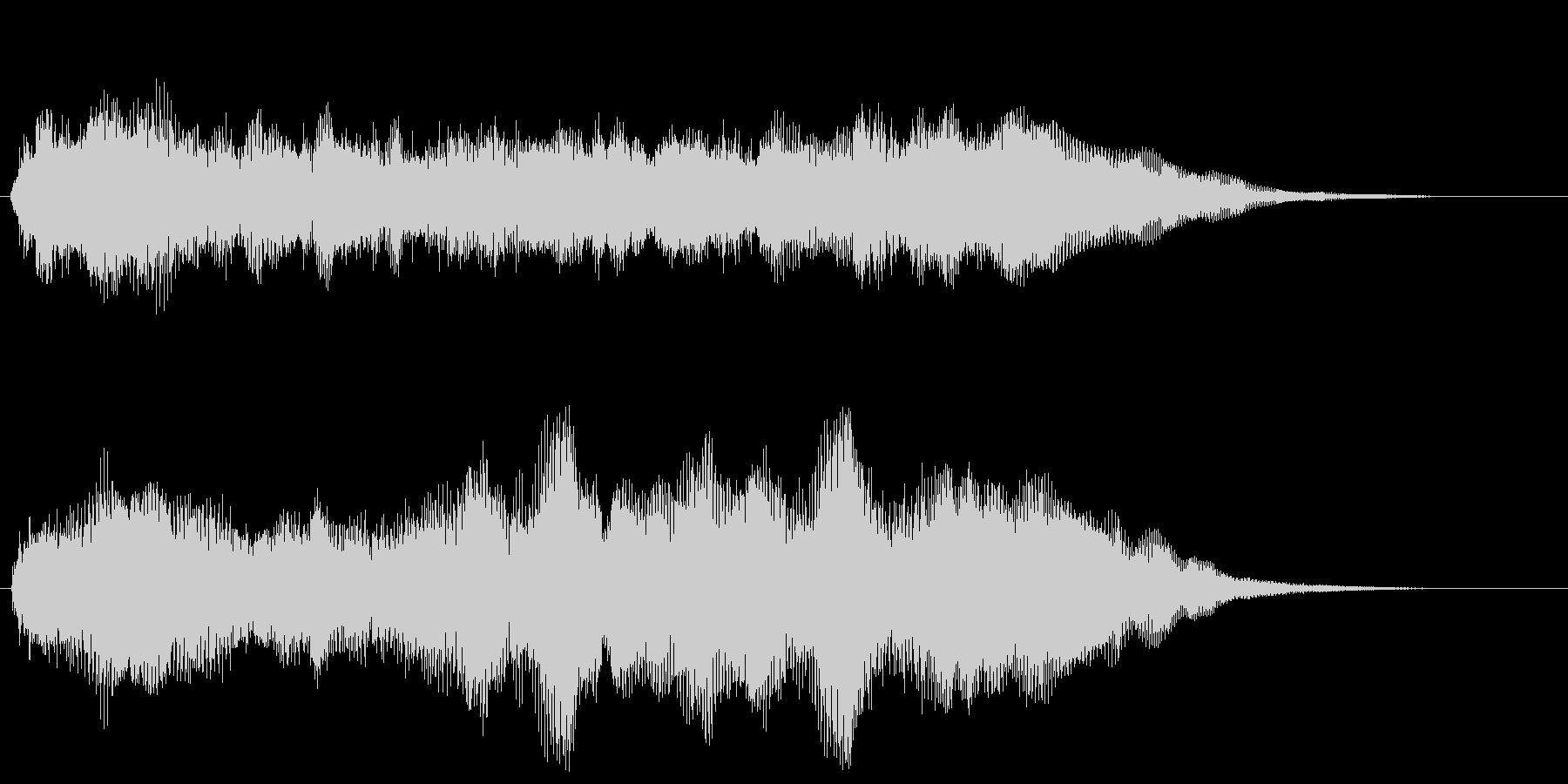 軽快なファンファーレ クリア 達成 栄光の未再生の波形