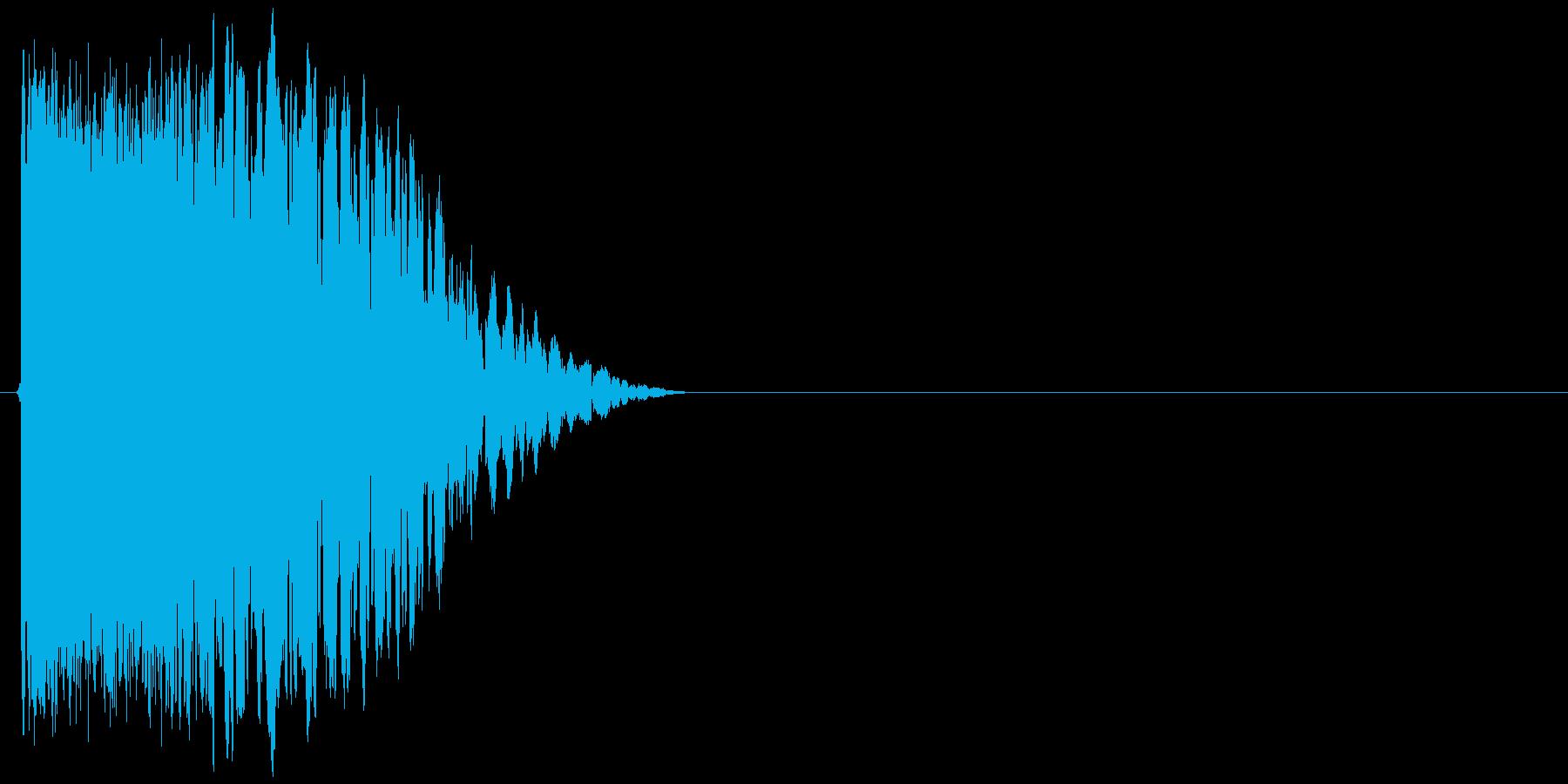 チャキーン!(斬撃、決定音、派手)の再生済みの波形