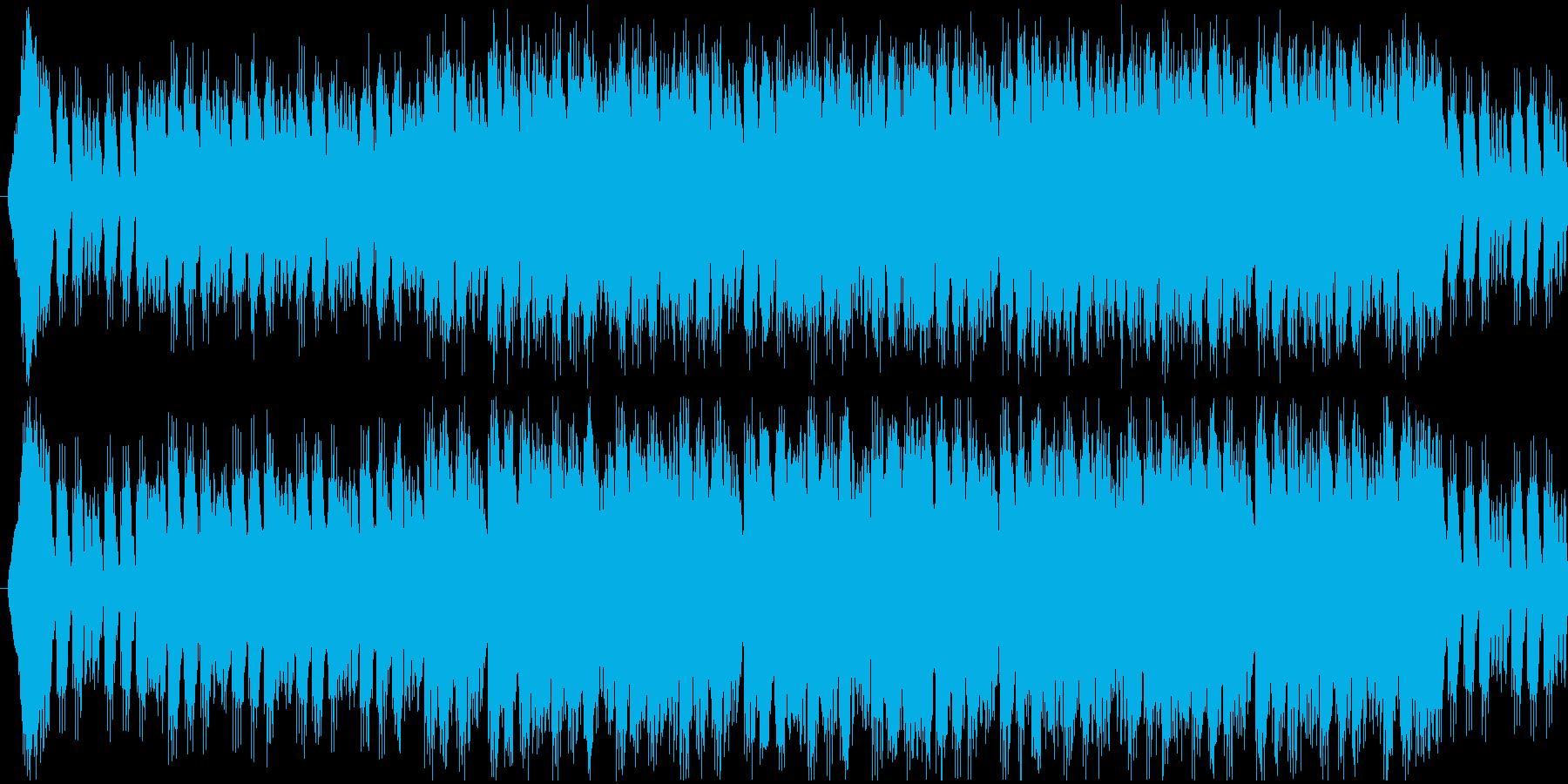 城をイメージしましたの再生済みの波形