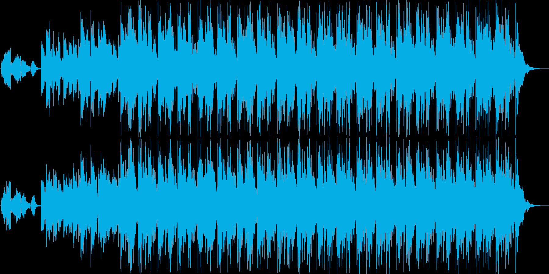 デジタル機器CFのBGM向きの再生済みの波形