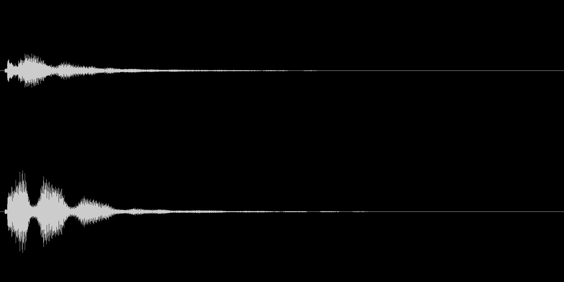 キラキラ系_070の未再生の波形