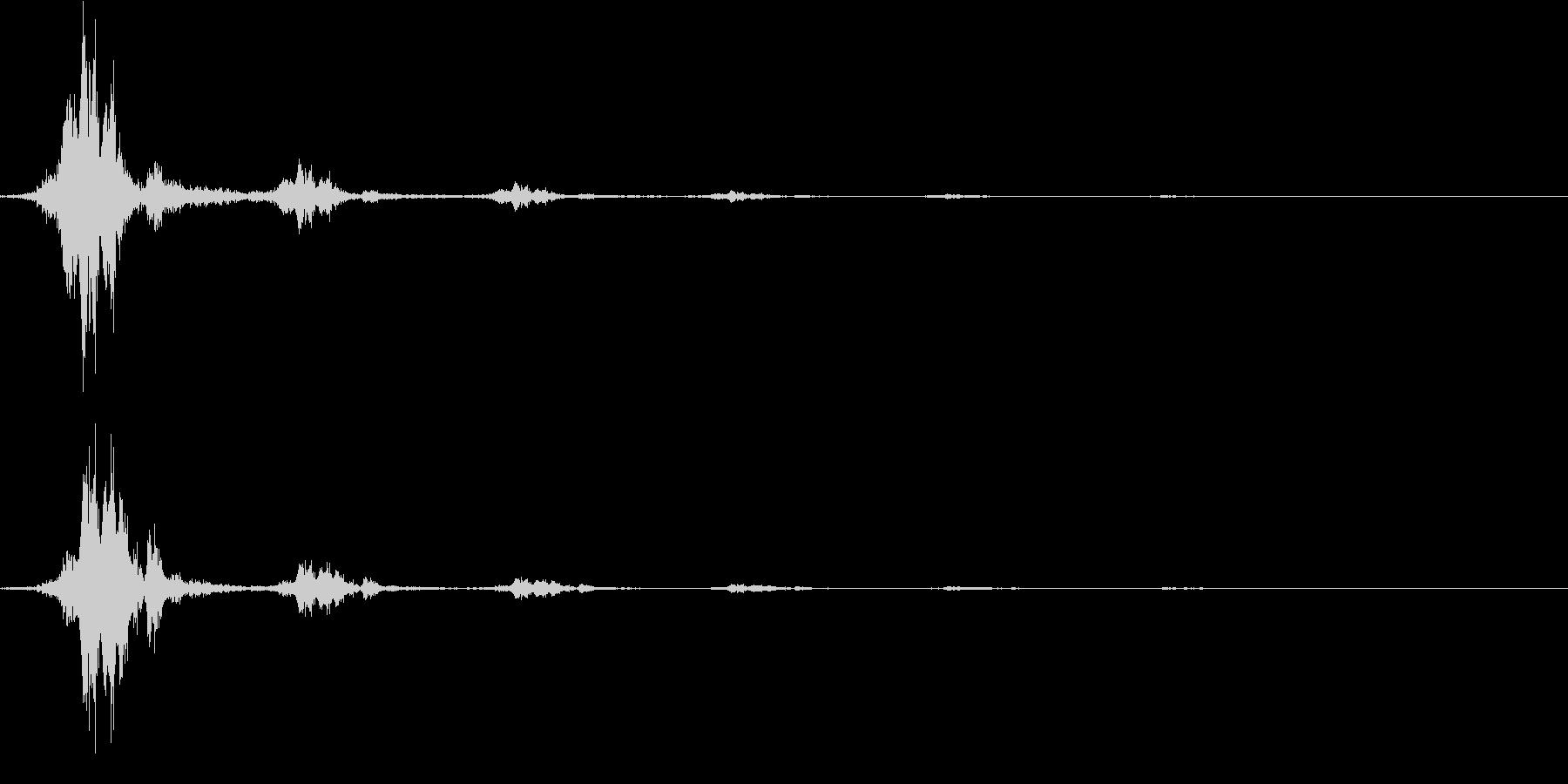 ジャンプ(エコー入り)の未再生の波形