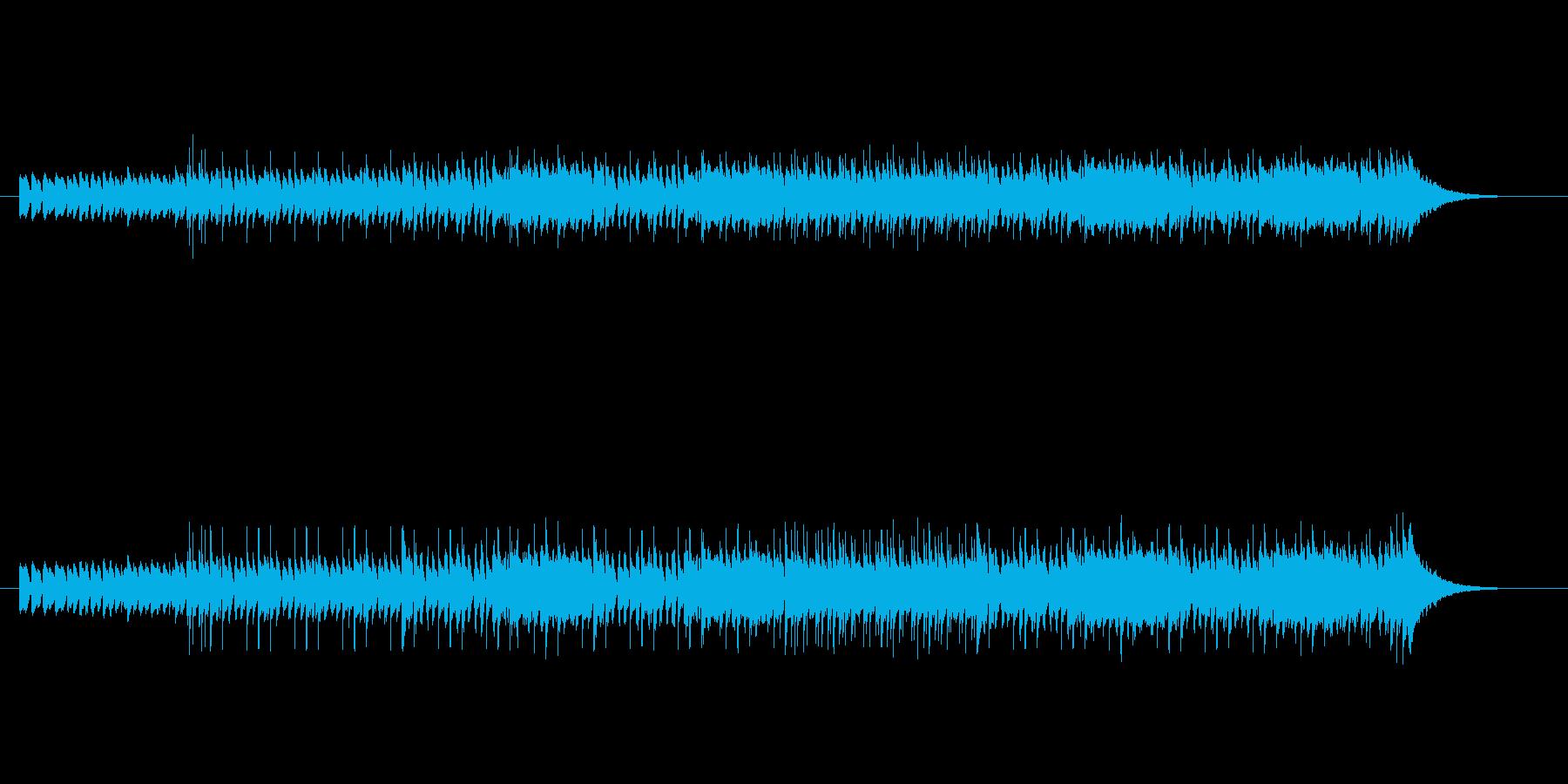 賑やかなプログレッシブ・ポップスの再生済みの波形