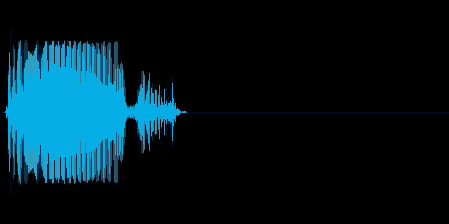 Rの再生済みの波形
