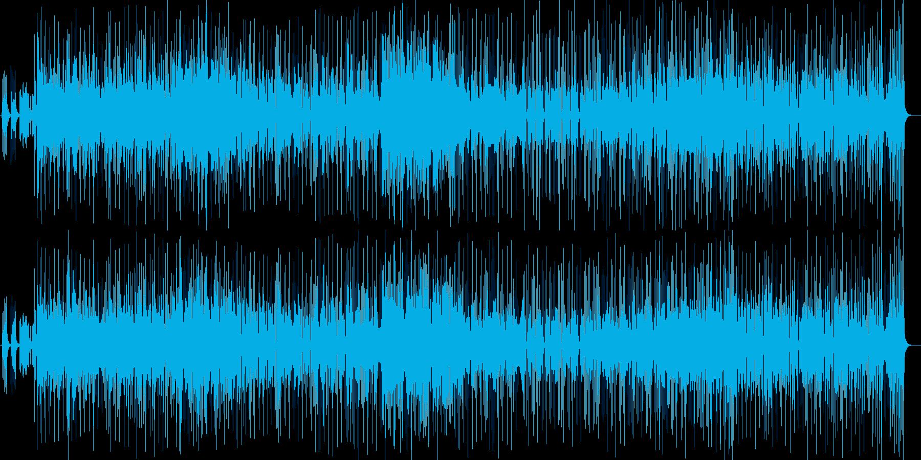 コミカルな登場木琴シンセサイザー曲の再生済みの波形