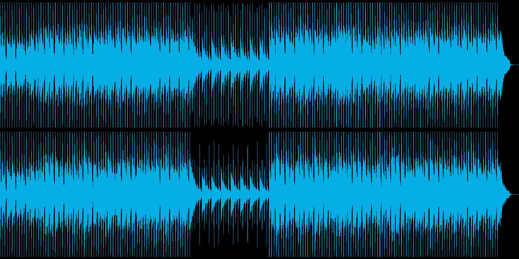 可愛い動物をイメージさせるような曲の再生済みの波形