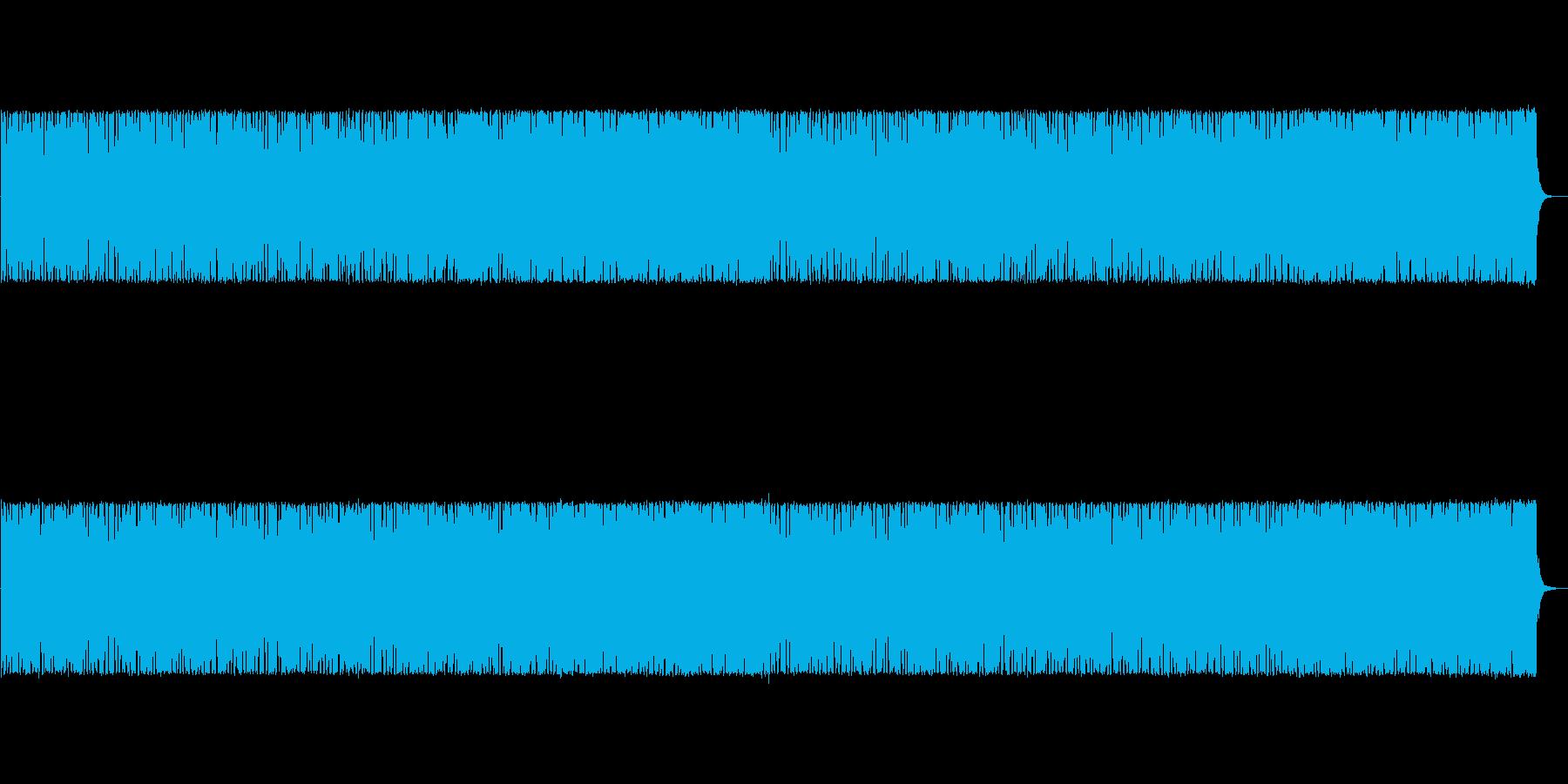 RPGのフィールドを意識した曲の再生済みの波形