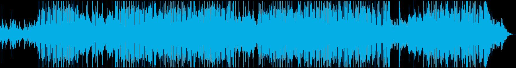 リズミカルでオシャレなインスト。の再生済みの波形