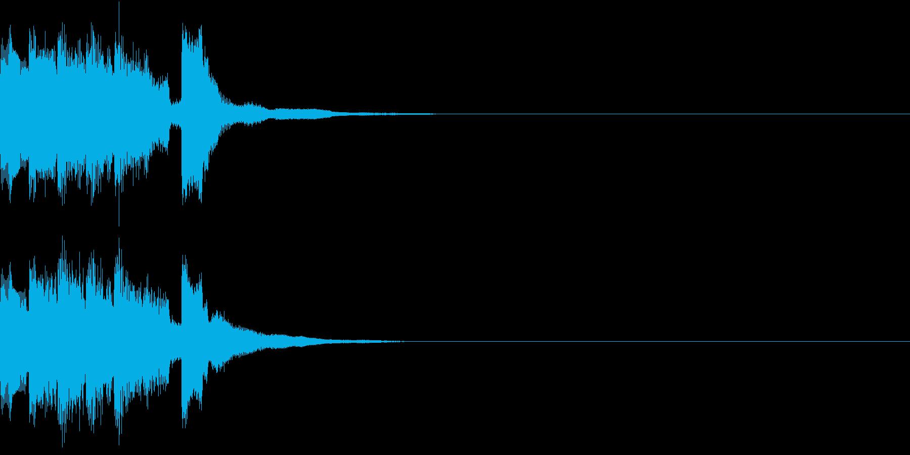 レベルアップ アイテム ゲット ゲームの再生済みの波形