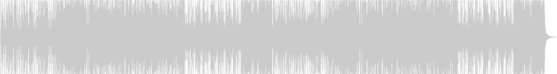 カジノ風のビッグバンドBGMの未再生の波形