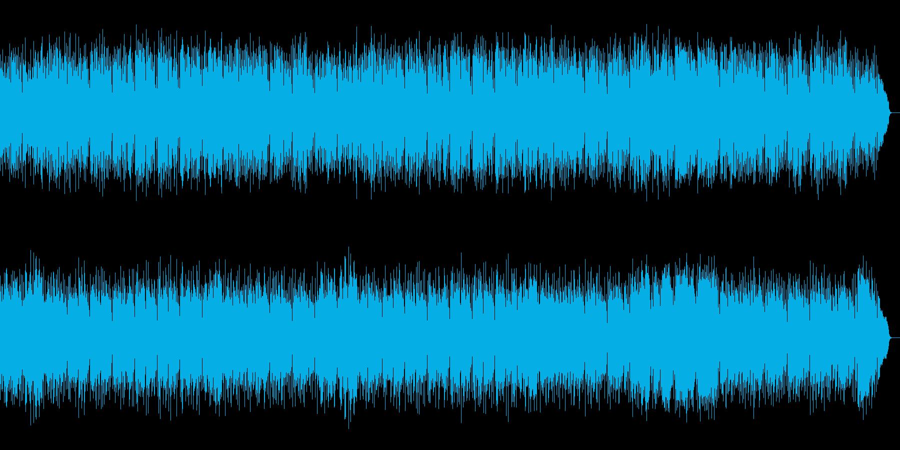 切なくも弾むリズムの懐かしい昭和ポップスの再生済みの波形