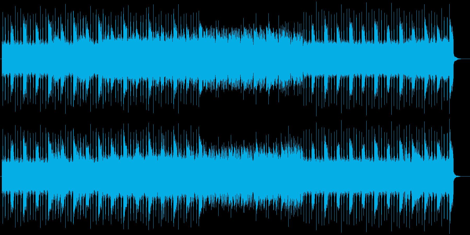 宇宙感のあるおしゃれなシンセサウンドの再生済みの波形