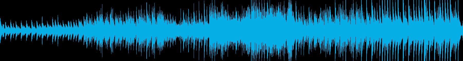 有名なカノンのピアノエレクトロニカ。の再生済みの波形