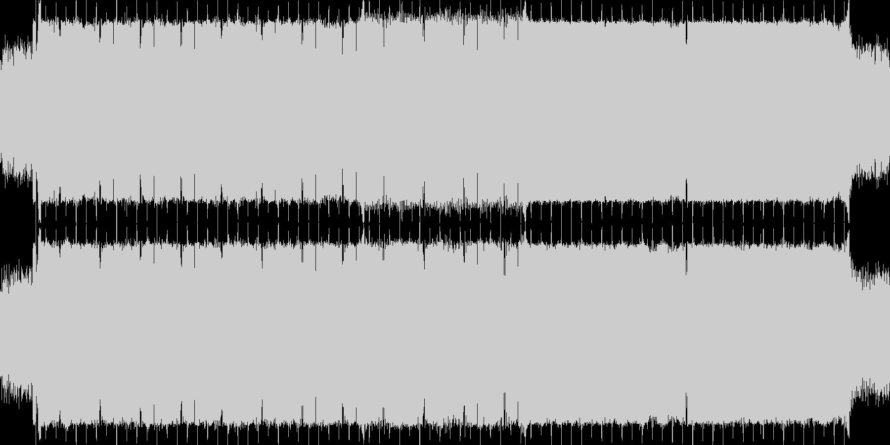 暗く、時折神秘性をもたせる感じです。フ…の未再生の波形