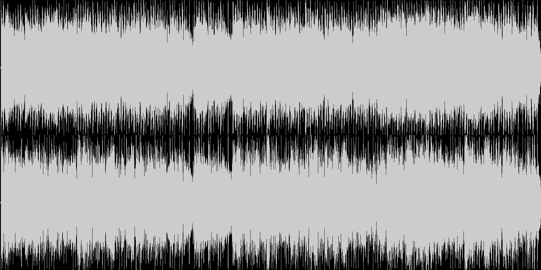 優しいアコースティックギターLOOPの未再生の波形