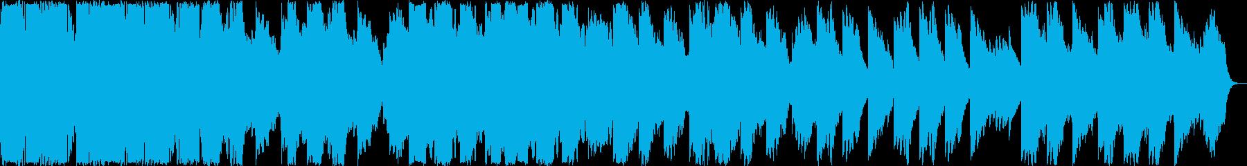 穏やかなバイオリンクラシックの再生済みの波形
