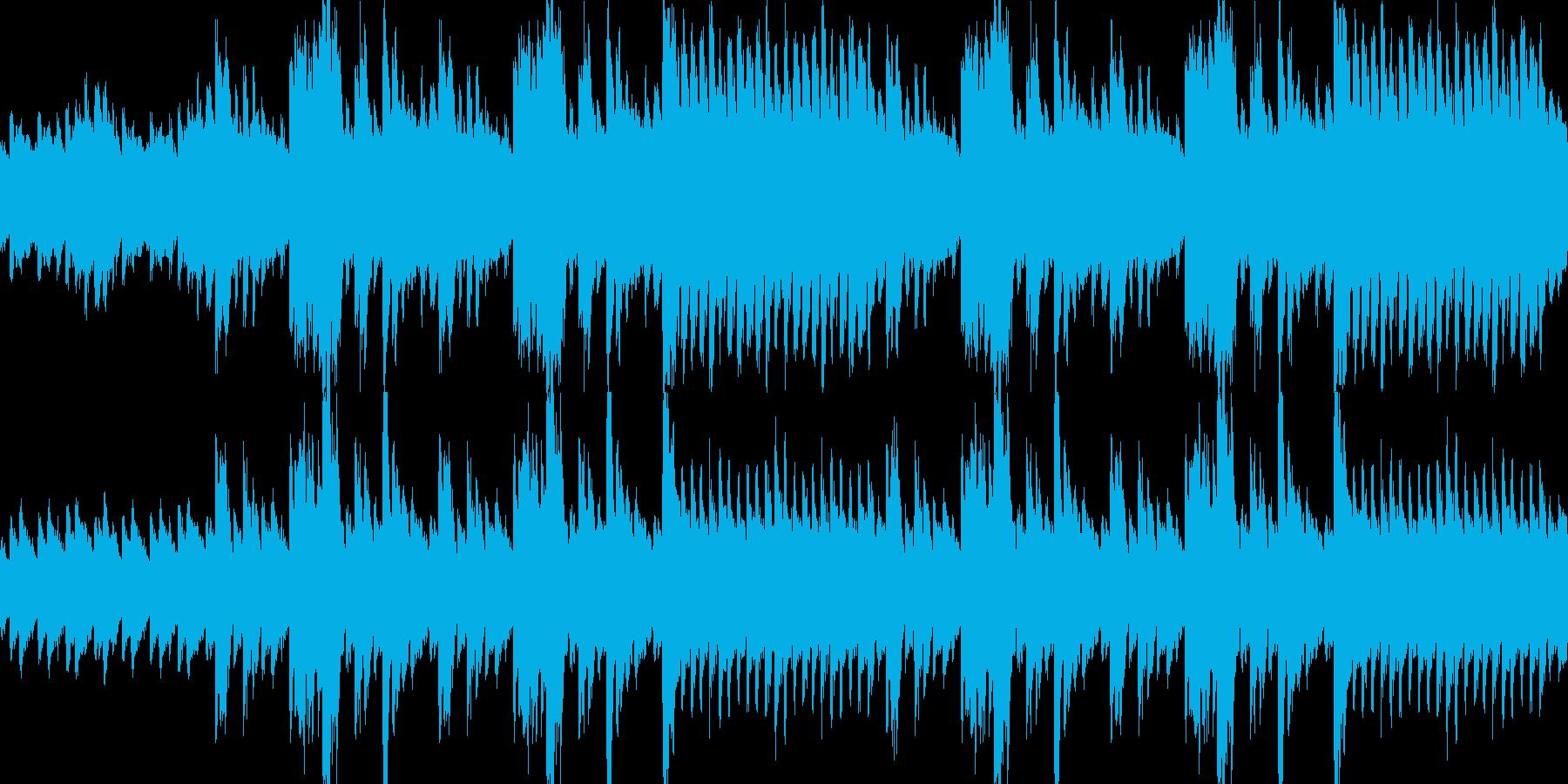 流れるようなシンプルな旋律のピアノソロの再生済みの波形