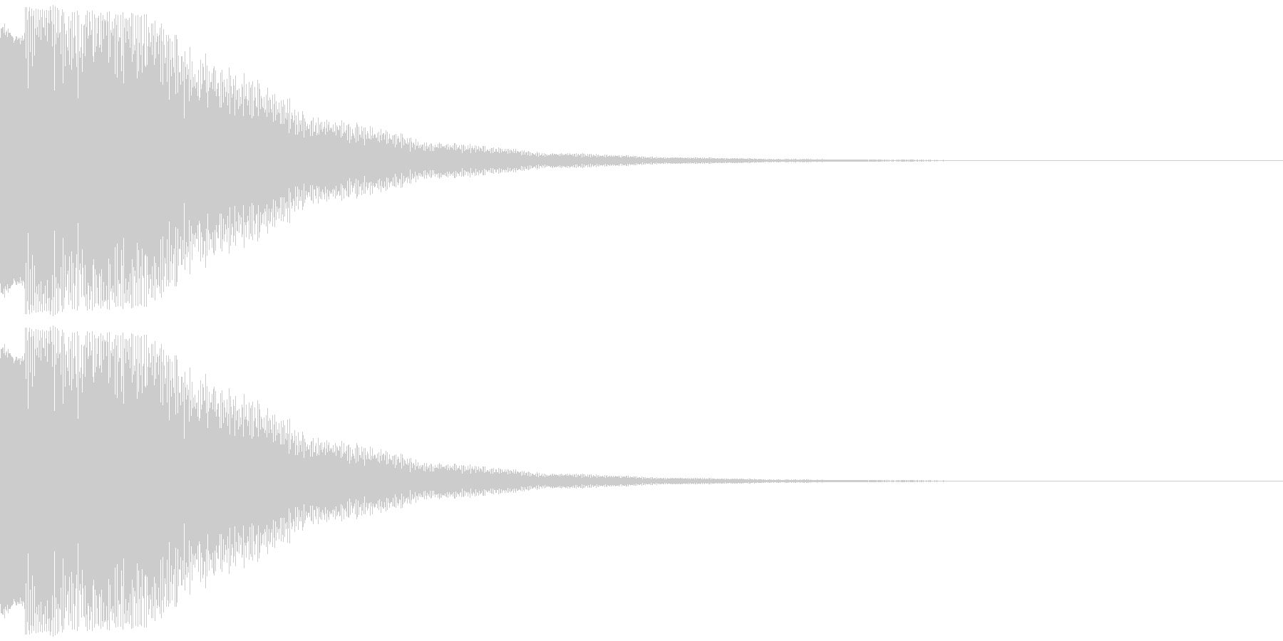 チロリーンの未再生の波形