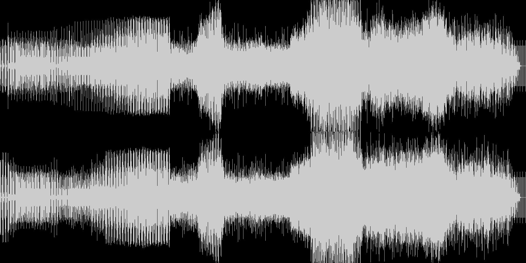 春っぽいエレクトロの未再生の波形