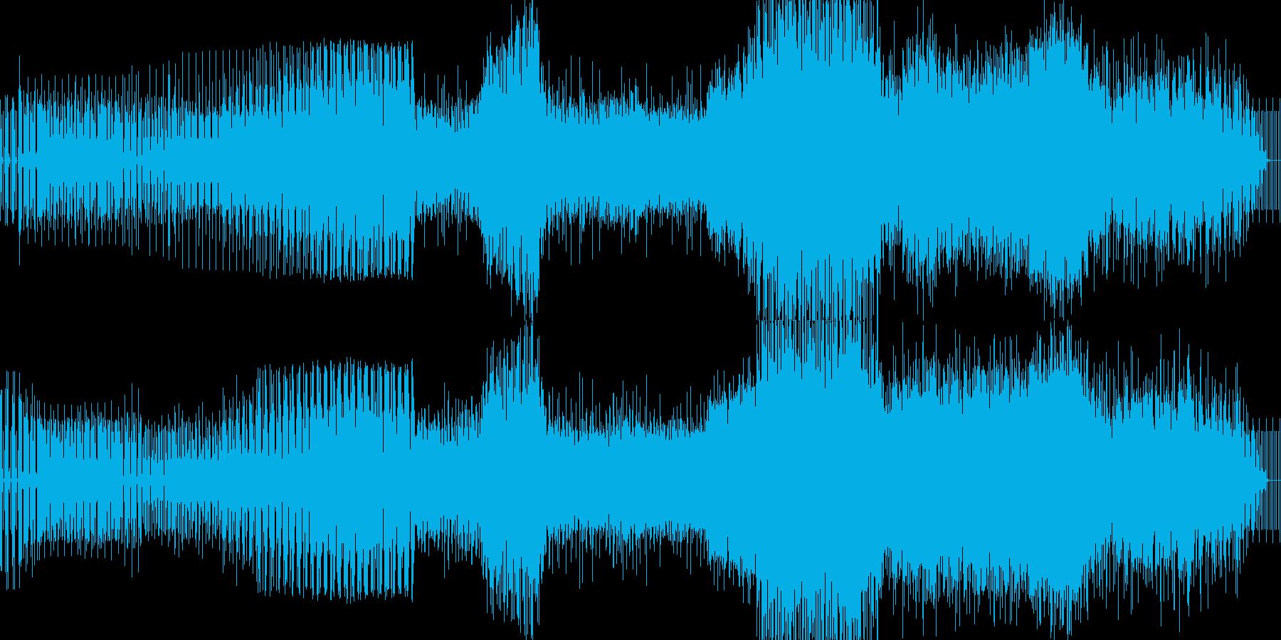 春っぽいエレクトロの再生済みの波形